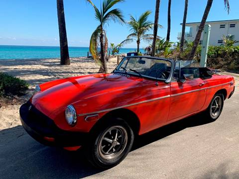 1978 MG MGB for sale in Hollywood, FL