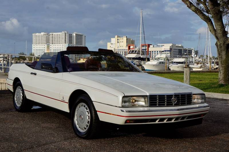 1987 cadillac allante in hollywood fl team auto us. Black Bedroom Furniture Sets. Home Design Ideas