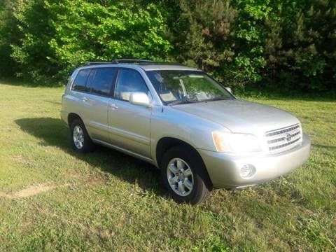 2003 Toyota Highlander for sale at Don Roberts Auto Sales in Lawrenceville GA