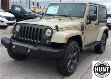 2017 Jeep Wrangler for sale in Franklin, KY