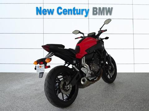 2015 Yamaha FZ07 for sale in Paola, KS