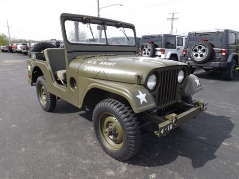 1953 Willys M-38a1 for sale in Paola, KS