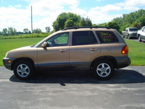 2004 Hyundai Santa Fe for sale in Green Bay WI