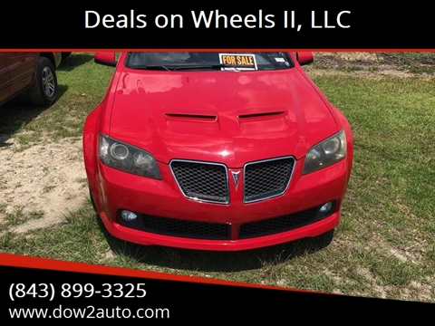 2009 Pontiac G8 for sale in Moncks Corner, SC
