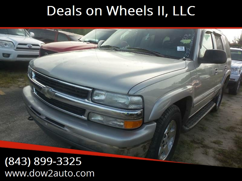 Deals on Wheels II LLC - Used Cars - Moncks Corner SC Dealer