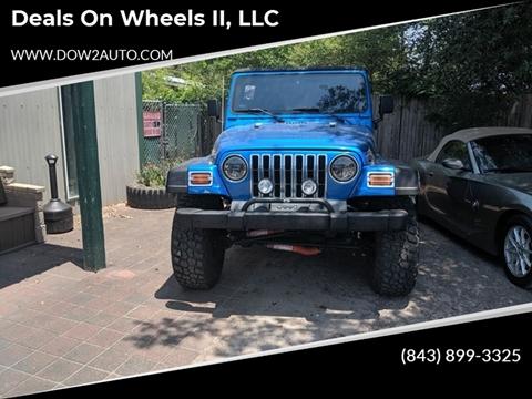 1999 Jeep Wrangler for sale in Moncks Corner, SC