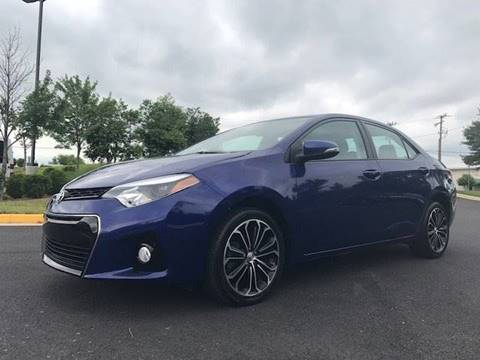 2016 Toyota Corolla for sale at Freedom Auto Sales in Chantilly VA