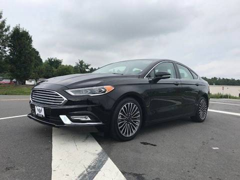 2017 Ford Fusion for sale at Freedom Auto Sales in Chantilly VA