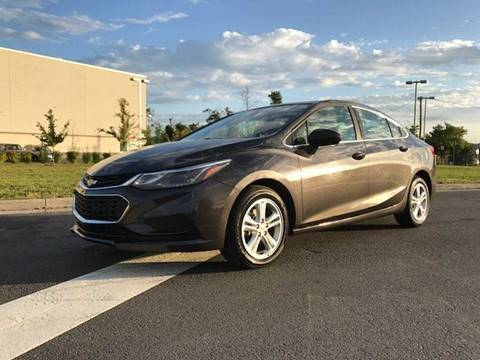2017 Chevrolet Cruze for sale at Freedom Auto Sales in Chantilly VA