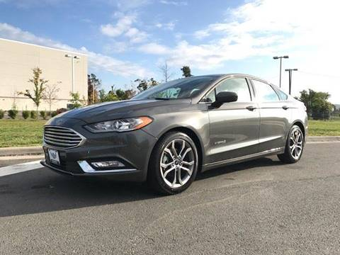 2017 Ford Fusion Hybrid for sale at Freedom Auto Sales in Chantilly VA
