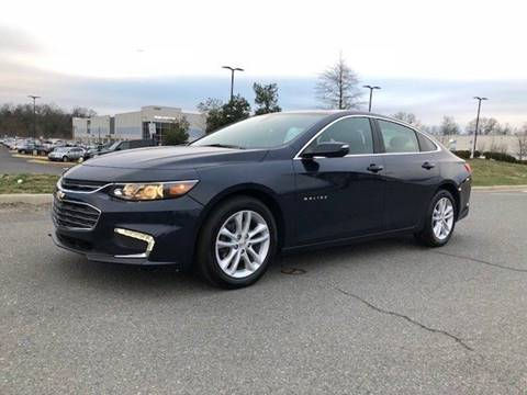 2018 Chevrolet Malibu for sale at Freedom Auto Sales in Chantilly VA