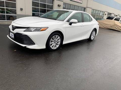 2018 Toyota Camry for sale at Freedom Auto Sales in Chantilly VA