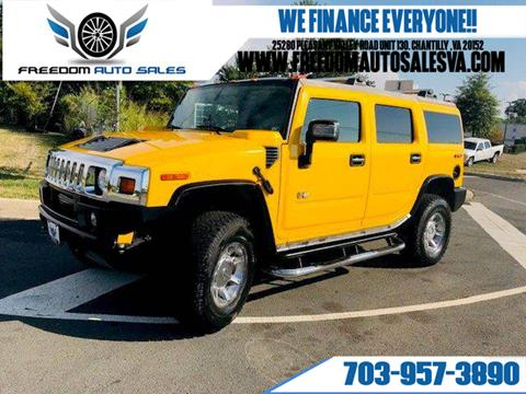 2006 HUMMER H2 for sale in Chantilly, VA