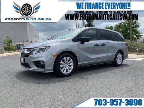2018 Honda Odyssey for sale in Chantilly, VA