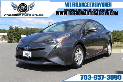 2017 Toyota Prius for sale in Chantilly, VA