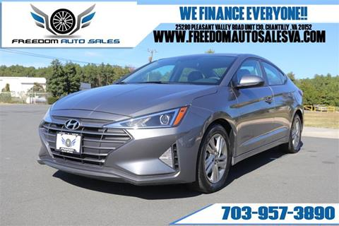 2019 Hyundai Elantra for sale in Chantilly, VA