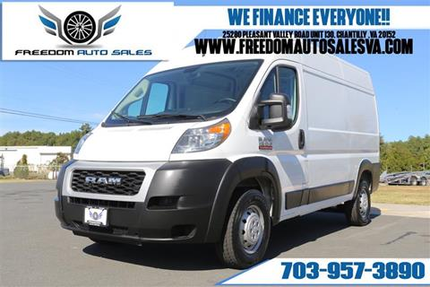 2019 RAM ProMaster Cargo for sale in Chantilly, VA