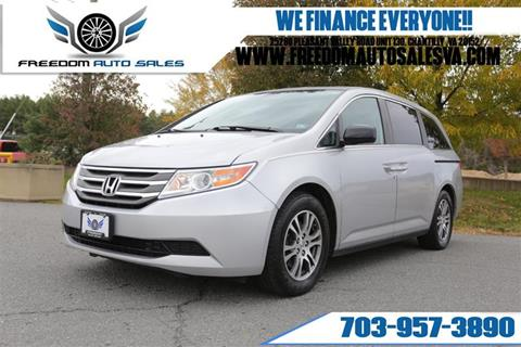 2013 Honda Odyssey for sale at Freedom Auto Sales in Chantilly VA