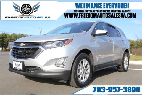 2019 Chevrolet Equinox for sale at Freedom Auto Sales in Chantilly VA