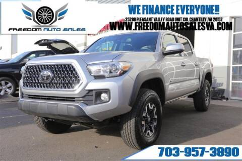 2019 Toyota Tacoma for sale at Freedom Auto Sales in Chantilly VA