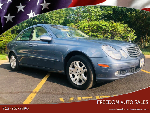 2005 Mercedes-Benz E-Class for sale at Freedom Auto Sales in Chantilly VA
