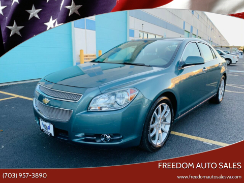 2009 Chevrolet Malibu for sale at Freedom Auto Sales in Chantilly VA