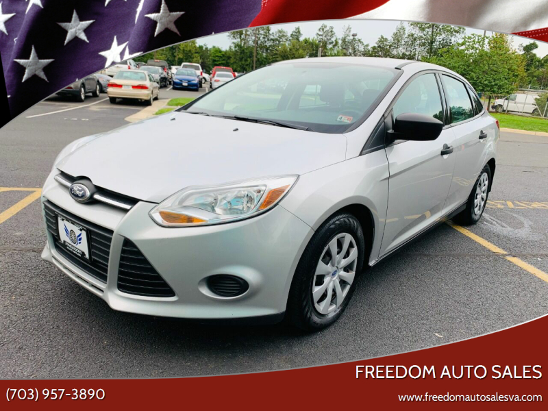 2014 Ford Focus for sale at Freedom Auto Sales in Chantilly VA