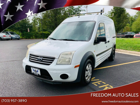 2013 Ford Transit Connect for sale at Freedom Auto Sales in Chantilly VA