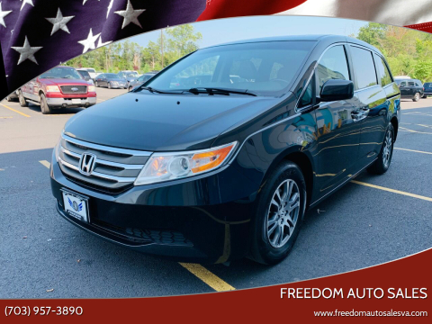 2011 Honda Odyssey for sale at Freedom Auto Sales in Chantilly VA