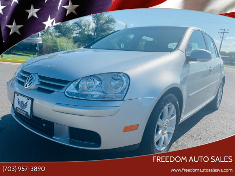 2008 Volkswagen Rabbit for sale at Freedom Auto Sales in Chantilly VA