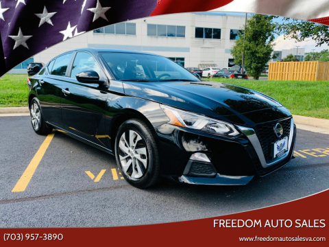 2019 Nissan Altima for sale at Freedom Auto Sales in Chantilly VA