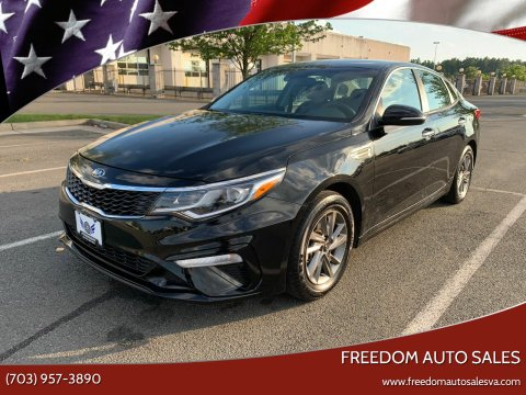 2019 Kia Optima for sale at Freedom Auto Sales in Chantilly VA