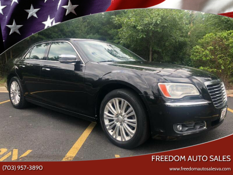 2011 Chrysler 300 for sale at Freedom Auto Sales in Chantilly VA