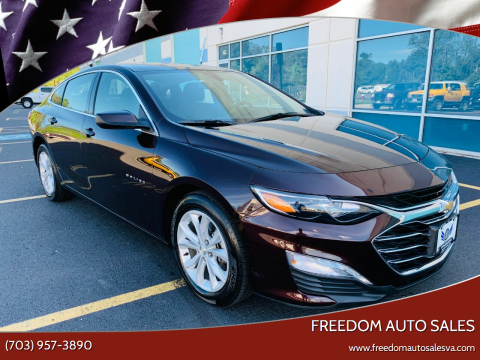 2020 Chevrolet Malibu for sale at Freedom Auto Sales in Chantilly VA