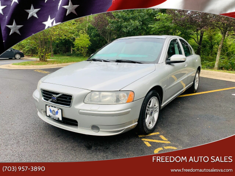 2007 Volvo S60 for sale at Freedom Auto Sales in Chantilly VA