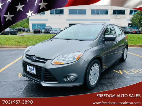 2012 Ford Focus for sale at Freedom Auto Sales in Chantilly VA