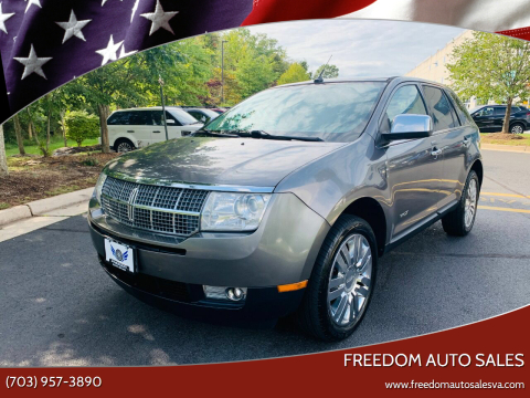2010 Lincoln MKX for sale at Freedom Auto Sales in Chantilly VA