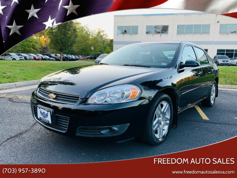 2008 Chevrolet Impala for sale at Freedom Auto Sales in Chantilly VA