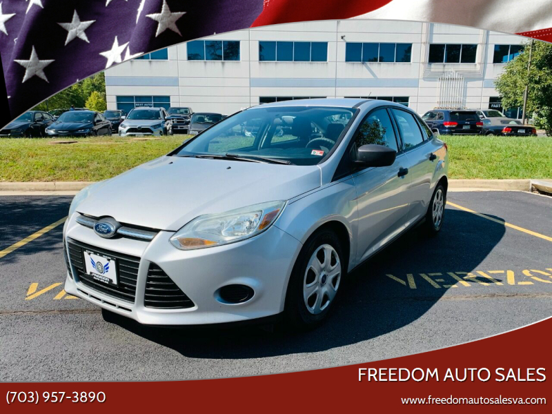 2013 Ford Focus for sale at Freedom Auto Sales in Chantilly VA