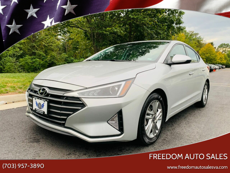 2020 Hyundai Elantra for sale at Freedom Auto Sales in Chantilly VA