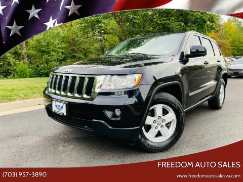 2011 Jeep Grand Cherokee for sale at Freedom Auto Sales in Chantilly VA