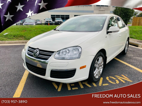 2007 Volkswagen Jetta for sale at Freedom Auto Sales in Chantilly VA