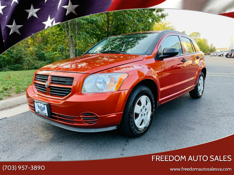 2007 Dodge Caliber for sale at Freedom Auto Sales in Chantilly VA