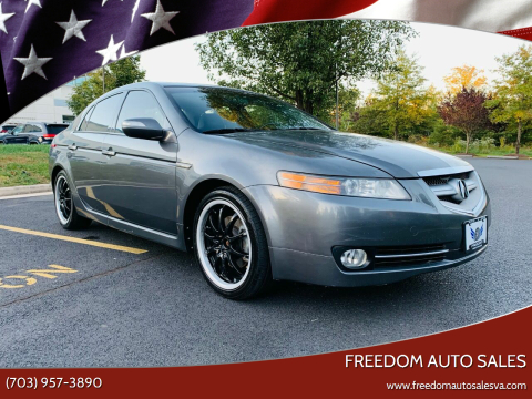 2008 Acura TL for sale at Freedom Auto Sales in Chantilly VA
