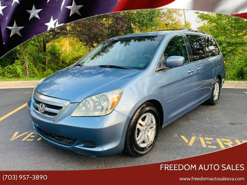 2006 Honda Odyssey for sale at Freedom Auto Sales in Chantilly VA