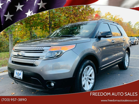 2013 Ford Explorer for sale at Freedom Auto Sales in Chantilly VA