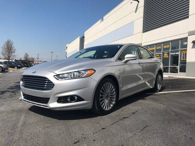 2016 Ford Fusion for sale at Freedom Auto Sales in Chantilly VA