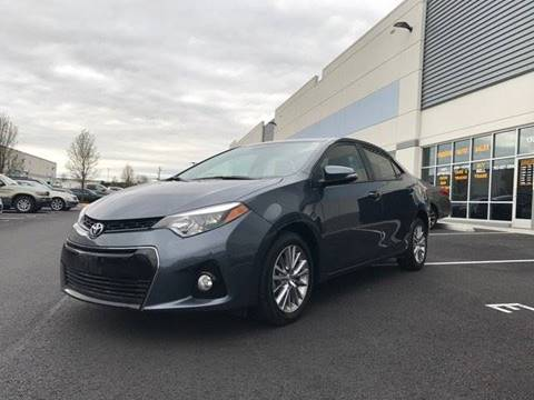2015 Toyota Corolla for sale at Freedom Auto Sales in Chantilly VA