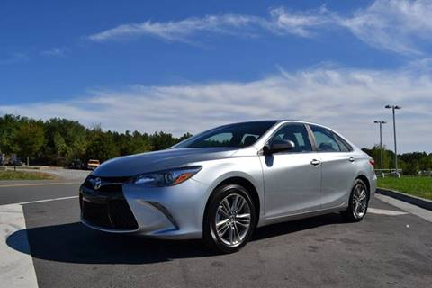 2016 Toyota Camry for sale at Freedom Auto Sales in Chantilly VA