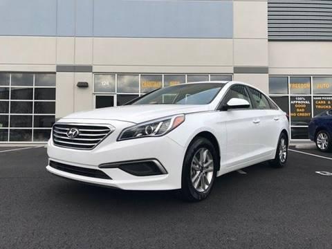 2017 Hyundai Sonata for sale at Freedom Auto Sales in Chantilly VA